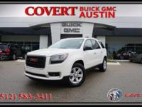 2015 GMC Acadia SLE sport utility vehicle with