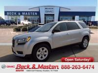Options:  2015 Gmc Acadia Fwd Sle-1|Automatic|3.6L Sidi