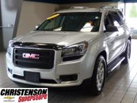 2015+GMC+Acadia+SLE-1+In+Quicksilver+Metallic+GM+CERTIF