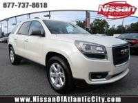 Look at this 2015 GMC Acadia SLE. Its Automatic