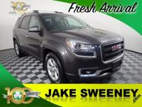 Our 2015 GMC Acadia has aced its 172 Point Inspection