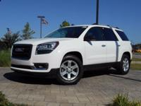 2015 GMC Acadia SLE-2 in Summit White, This Acadia