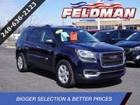 Gm certified eligbile! CARFAX One-Owner. FWD 3.6L V6