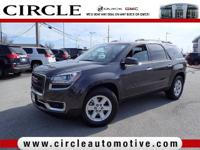 This outstanding example of a 2015 GMC Acadia SLE is