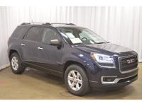 This 2015 GMC Acadia SLE is Certified Pre-Owned. What