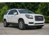 In this amazing 2015 GMC Acadia SLT-1, your experience