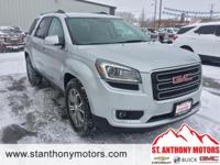 This 2015 GMC Acadia  has a 3.6 liter V6 Cylinder