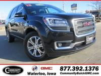 Certified.+Carbon+Black+Metallic+2015+GMC+Acadia+SLT-1+