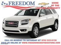 AWD Acadia SLT-1 White Diamond Tricoat **  CLEAN