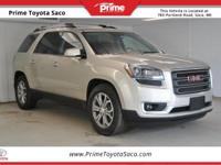 CARFAX One-Owner! 2015 GMC Acadia SLT-1 in Champagne