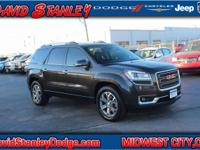 New Price! CARFAX One-Owner. Gray 2015 GMC Acadia SLT-1