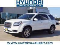 White Diamond Tricoat 2015 GMC Acadia SLT-1 ** $0 Down