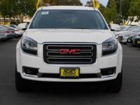 Options:  2015 Gmc Acadia W/Navigation