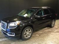 2015 GMC Acadia SLT-1 in Black. FWD. Are you READY for