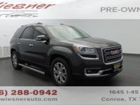 Tried-and-true, this certified Used 2015 GMC Acadia SLT