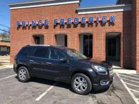 2015 GMC ACADIA SLT LOADED WITH 4 WHEEL DRIVE, THREE