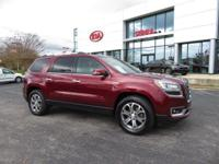 CARFAX One-Owner. Crimson Red 2015 4D Sport Utility GMC