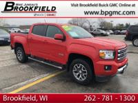 GMC Certified Pre-owned, Clean CARFAX, One Owner, 3.6L