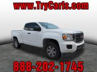 2015 GMC Canyon Extended Cab with Alloy Wheels, Power