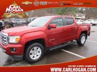 Options:  2015 Gmc Canyon Sle|4X2 Sle 4Dr Crew Cab 5