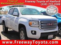 CARFAX One-Owner. Clean CARFAX. White 2015 GMC Canyon