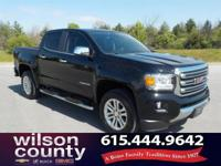 2015 GMC Canyon SLT 3.6L V6 DGI DOHC VVT Summit White