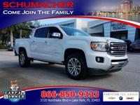 Options:  2015 Gmc Canyon Slt 4X4| |Dual-Stage Frontal