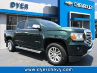 Look at this 2015 GMC Canyon 4WD SLT. Its Automatic