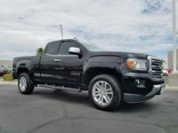Check out this 2015 GMC Canyon 4WD SLT. Its Automatic