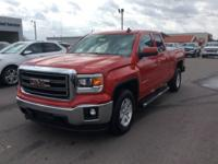 Red 2015 GMC Sierra 1500 SLE RWD 6-Speed Automatic