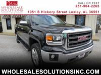 Style meets substance in our 2015 GMC Sierra 1500 SLT