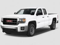CARFAX One-Owner. White 2015 GMC Sierra 1500 SLT 4WD