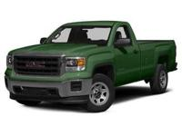 Step into the 2015 GMC Sierra 1500! Very clean and very