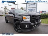 2015 Onyx Black GMC Sierra 1500 EXCLUSIVE LIFETIME
