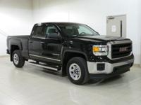 Black 2015 GMC Sierra 1500 4WD 6-Speed Automatic