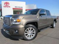 This 2015 GMC Sierra comes equipped with heated and