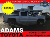 From work to weekends, this 2015 GMC Sierra 1500 Denali