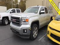 Silver 2015 GMC Sierra 1500 SLE RWD 6-Speed Automatic