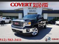 2015 GMC Sierra 1500 SLE extended cab truck with