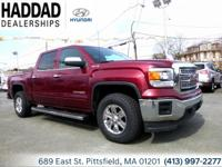 2015 GMC Sierra 1500 SLE Red 6-Speed Automatic