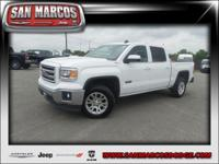 Options:  2015 Gmc Sierra 1500 Sle|White/|V8 5.3L