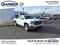 Introducing the 2015 GMC Sierra 1500 SLE! Featuring a