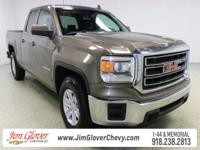 Drive home this 2015 GMC Sierra 1500 SLE in Light Steel