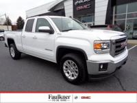 Summit White Sierra 1500 V8 SLE New Price! CARFAX