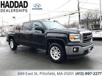2015 GMC Sierra 1500 SLE Black 6-Speed Automatic