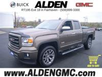 IN STOCK 2015 GMC Sierra 1500 with only 29,596 miles.