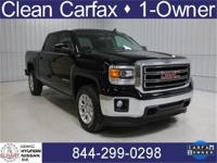 2015 GMC Sierra 1500 CLEAN CARFAX, ONE OWNER,