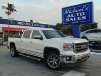 Options:  2015 Gmc Sierra 1500 Slt|White|6-Speed