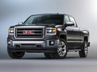 2015 GMC Sierra 1500 SLT in Onyx Black custom features