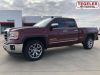 2015 GMC Sierra 1500 SLT Sonoma Red Metallic RWD